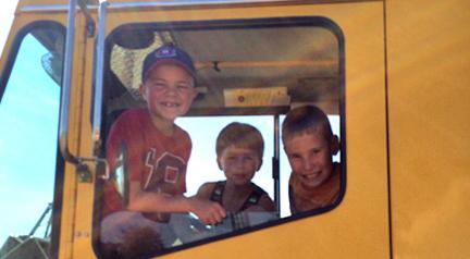 Kids In Crane
